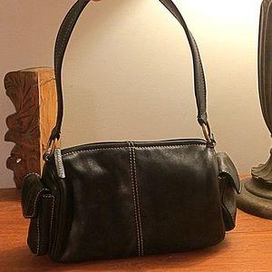 Fossil Bags - Fossil Black Leather Shoulder Bag